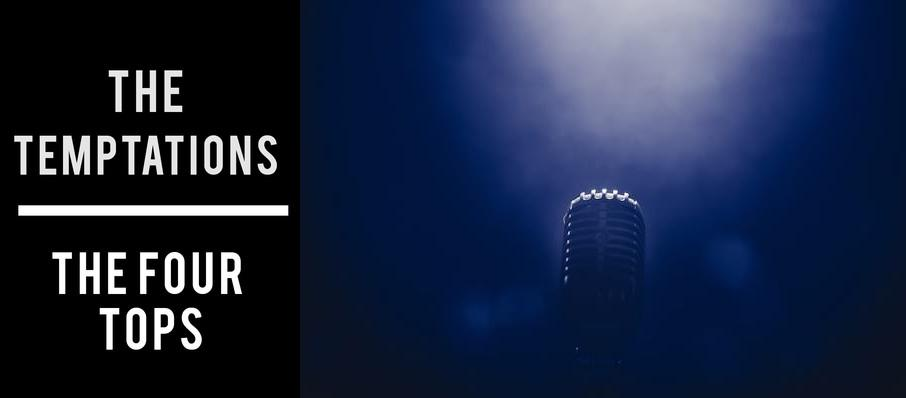 The Temptations & The Four Tops at Proctors Theatre Mainstage