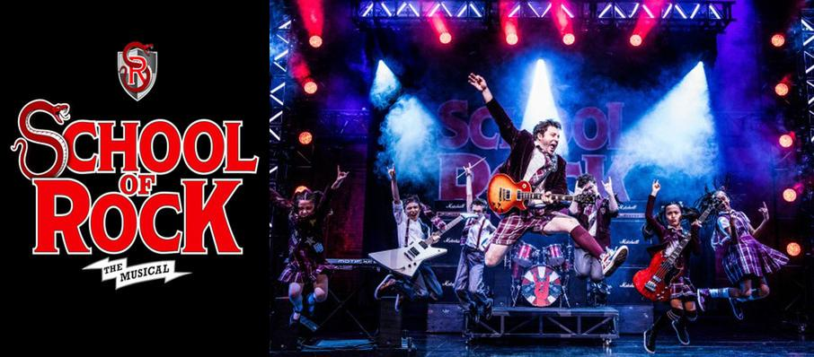 School of Rock at Proctors Theatre Mainstage
