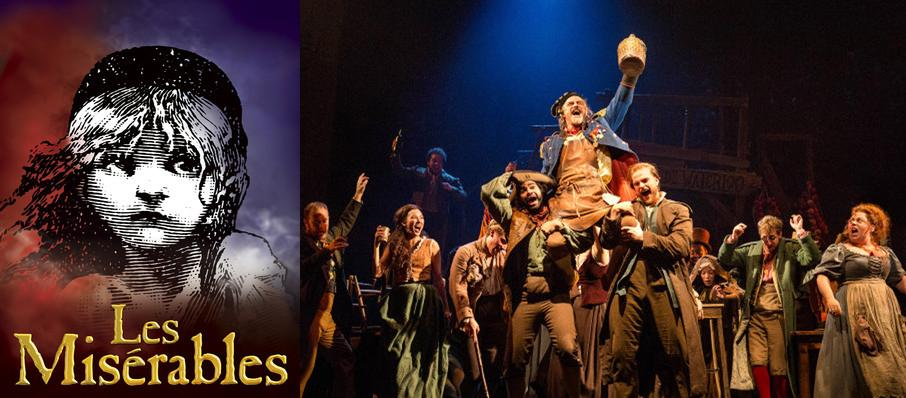 Les Miserables at Proctors Theatre Mainstage