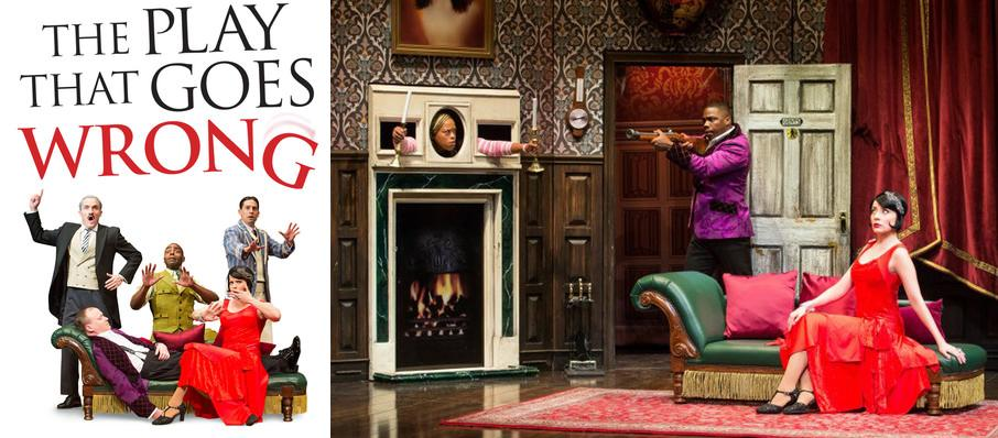 The Play That Goes Wrong at Proctors Theatre Mainstage