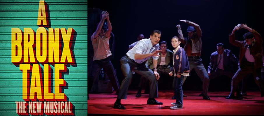 A Bronx Tale at Proctors Theatre Mainstage