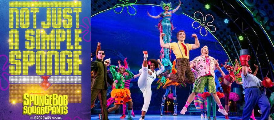 Spongebob Squarepants at Proctors Theatre Mainstage