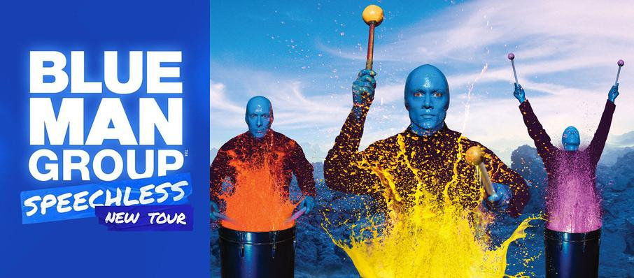 Blue Man Group at Proctors Theatre Mainstage